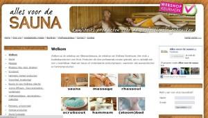 Allesvoordesauna-website